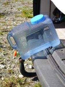 Vanlife Water storage Wasserkanister mit Wasserhahn