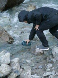 Vanlife Wasser auffüllen refilling water