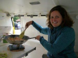 Kochen im Camper Mit dem T5 Küchenblock