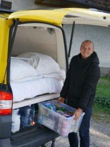 VW T5 ohne Schubladenauszug Heck Stauraum unterm Bett
