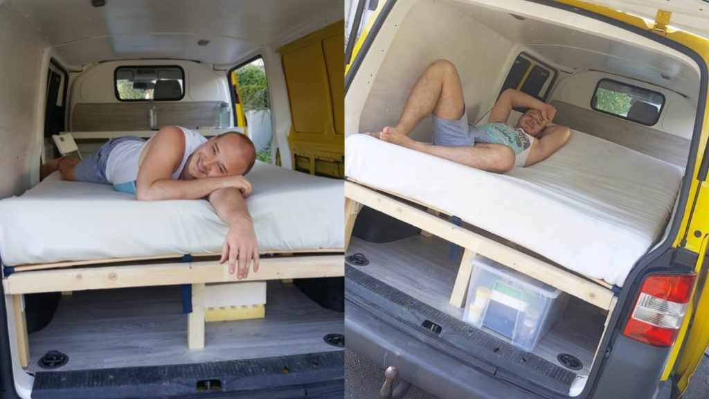 VW Bus Bett T5 Matratze