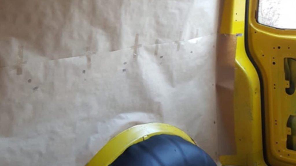 T5 Innenverkleidung Schablone